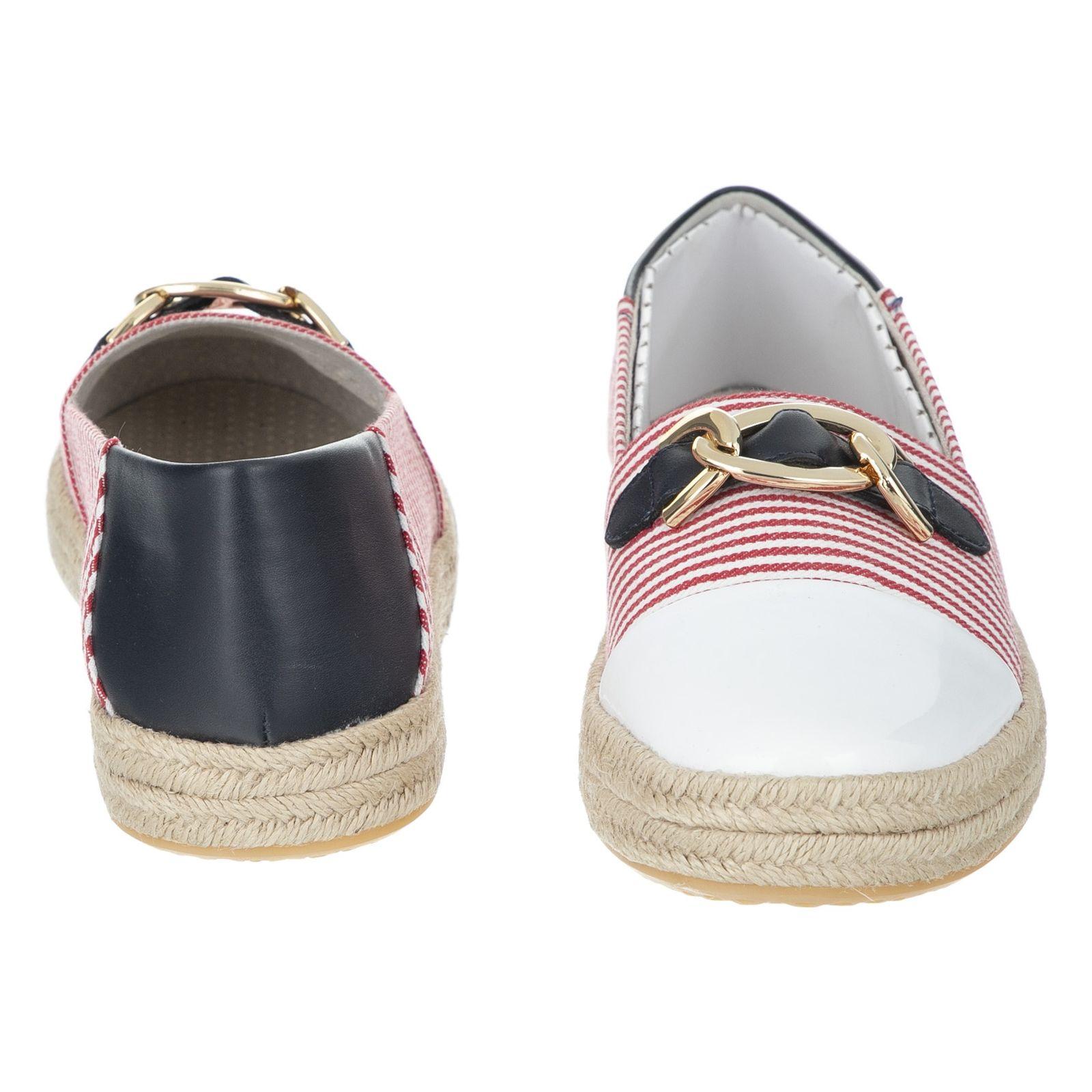 کفش زنانه جی اوکس مدل D8229E-0AWHH-C0003 - قرمز سفید - 4