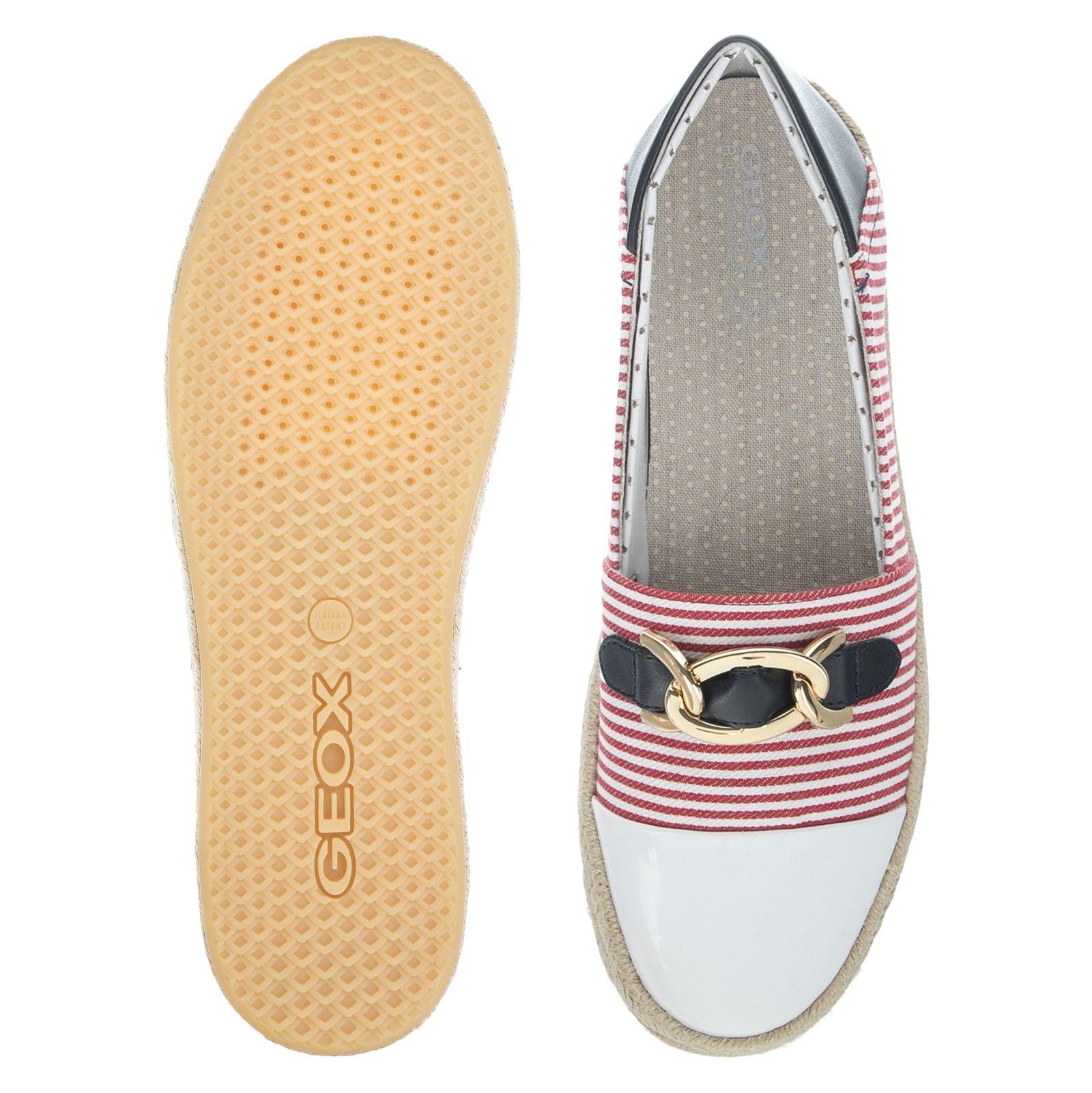 کفش زنانه جی اوکس مدل D8229E-0AWHH-C0003 - قرمز سفید - 5