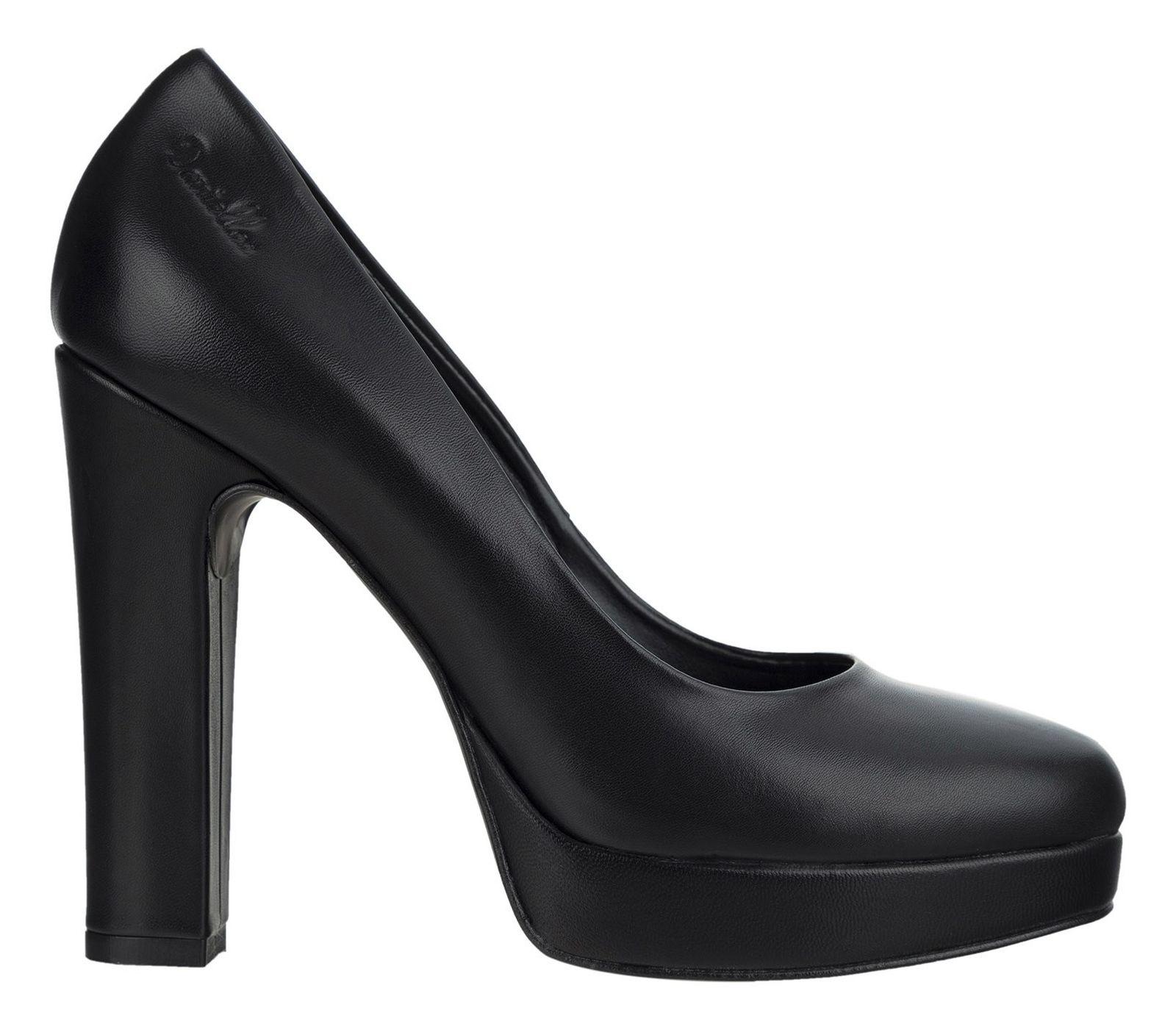 کفش چرم پاشنه بلند زنانه Viviana - دنیلی - مشکي - 1