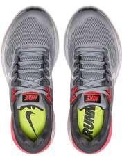 کفش دویدن بندی زنانه Air Zoom Structure 21 - نایکی - طوسي و مشکي - 3