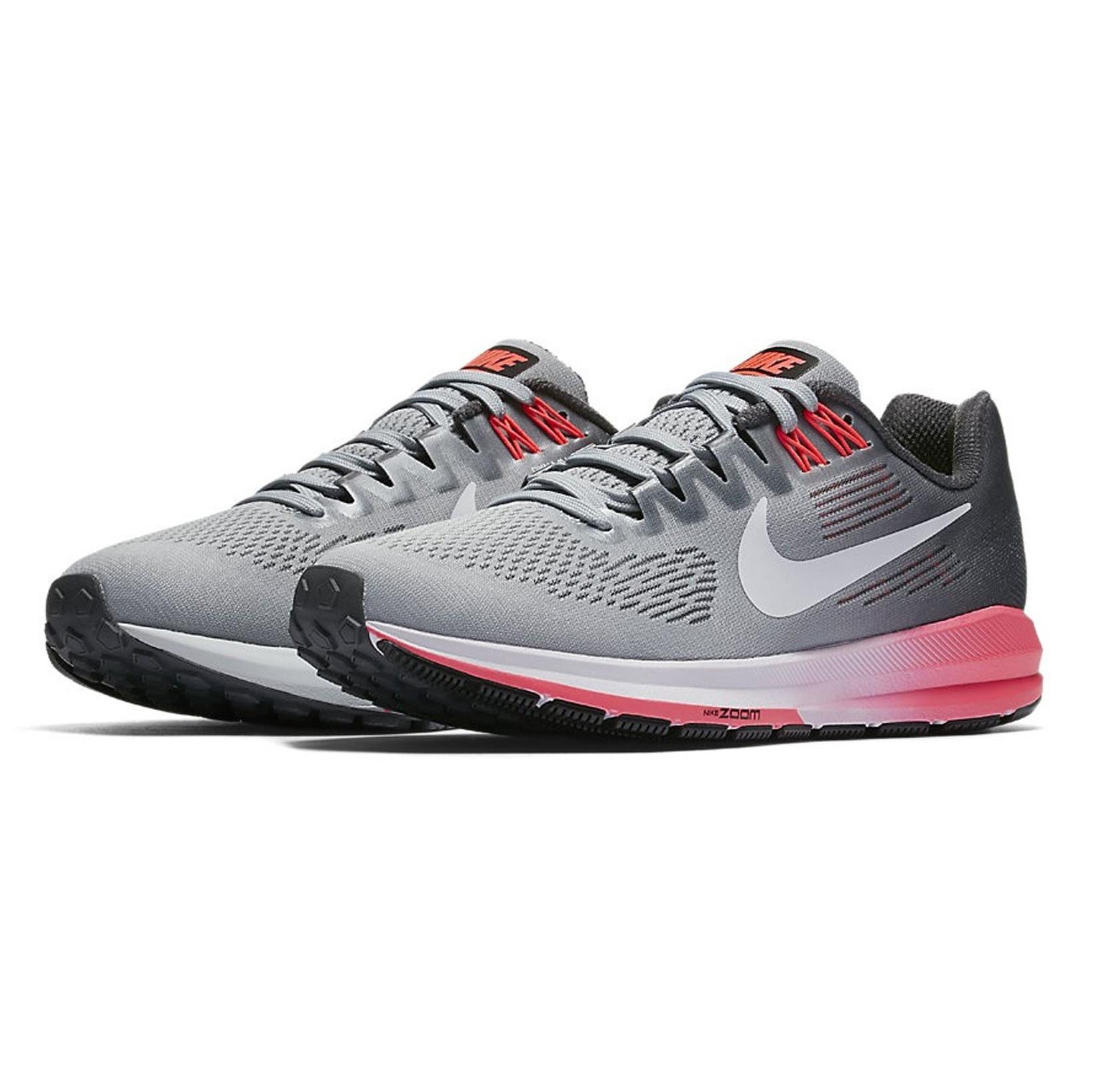 کفش دویدن بندی زنانه Air Zoom Structure 21 - نایکی - طوسي و مشکي - 6