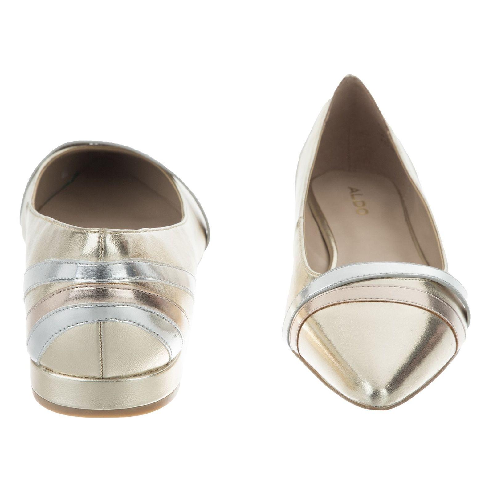 کفش تخت زنانه Leclya - آلدو - طلايي - 5