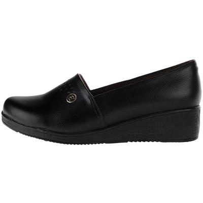 تصویر کفش  زنانه طبی سینا مدل سپیده رنگ مشکی