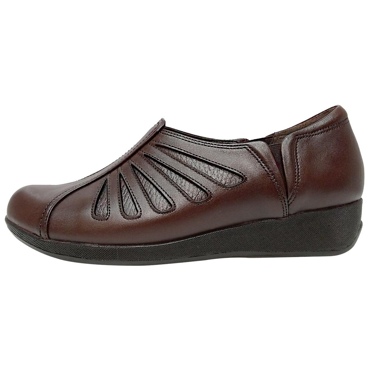 خرید                      کفش طبی زنانه روشن مدل شاهین کد 02