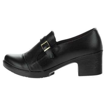 کفش  زنانه طبی سینا مدل بنفشه رنگ مشکی