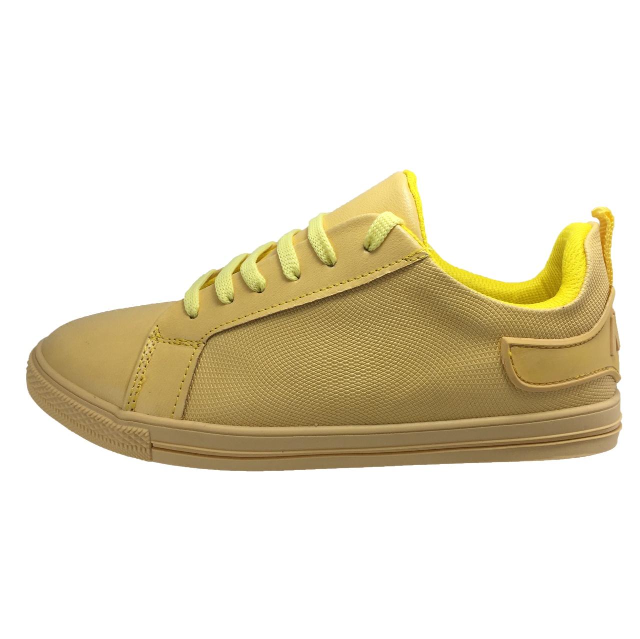 کفش زنانه مدل B123 رنگ زرد