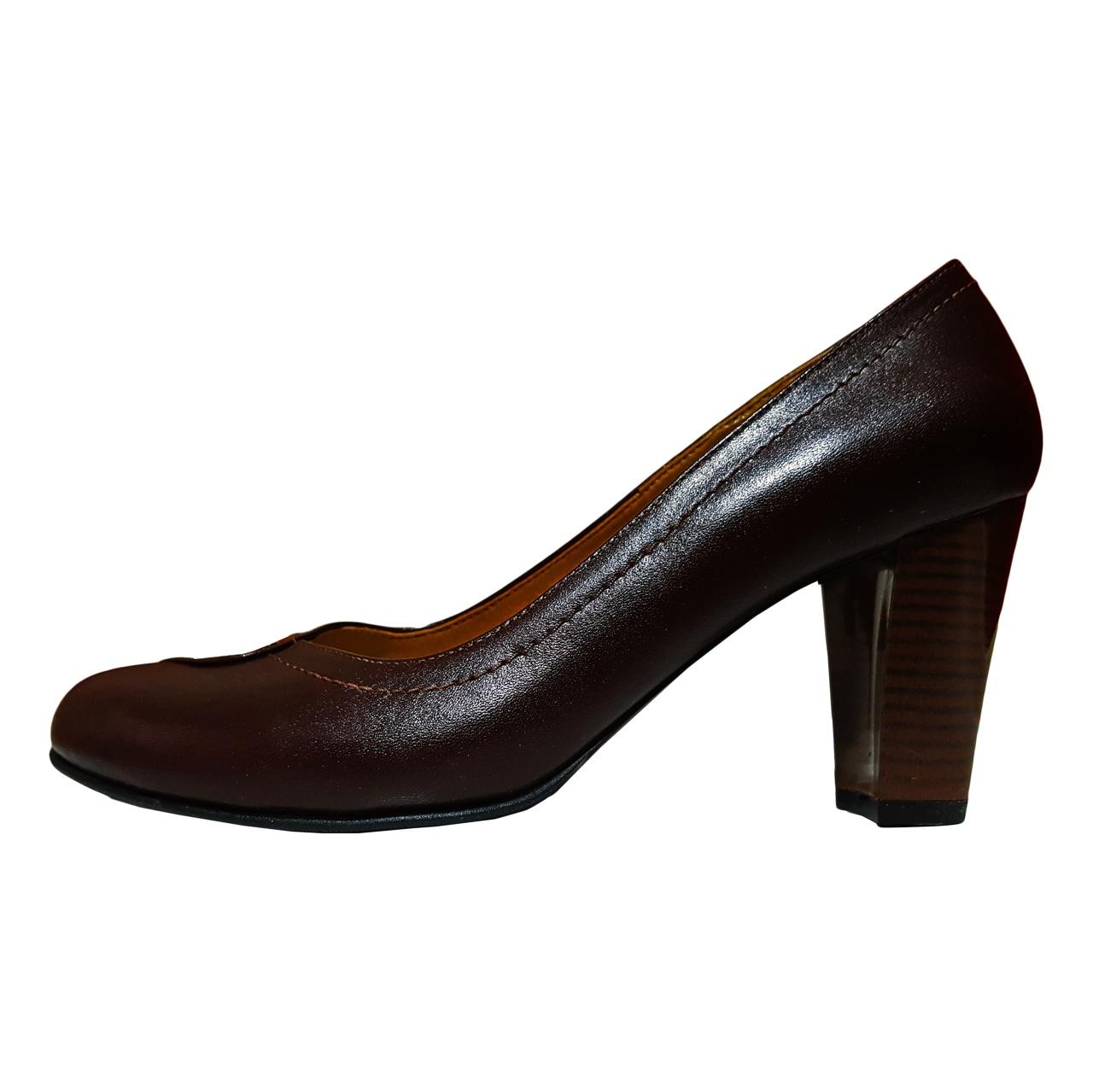 کفش زنانه چرم شهرزاد کد 1101