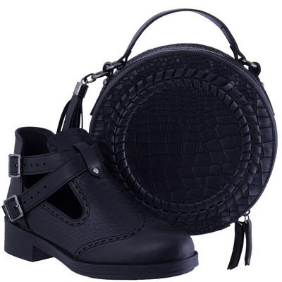 تصویر ست کیف و کفش زنانه مدل دوبند