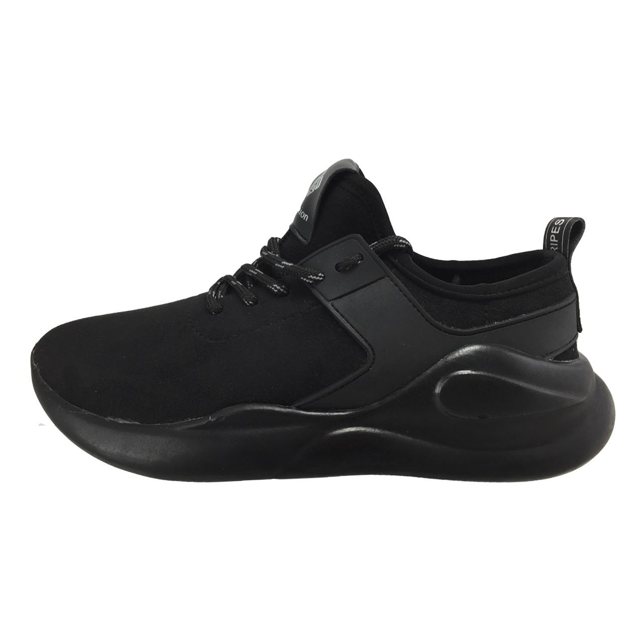 کفش ورزشی زنانه فشن مدل B92 رنگ مشکی