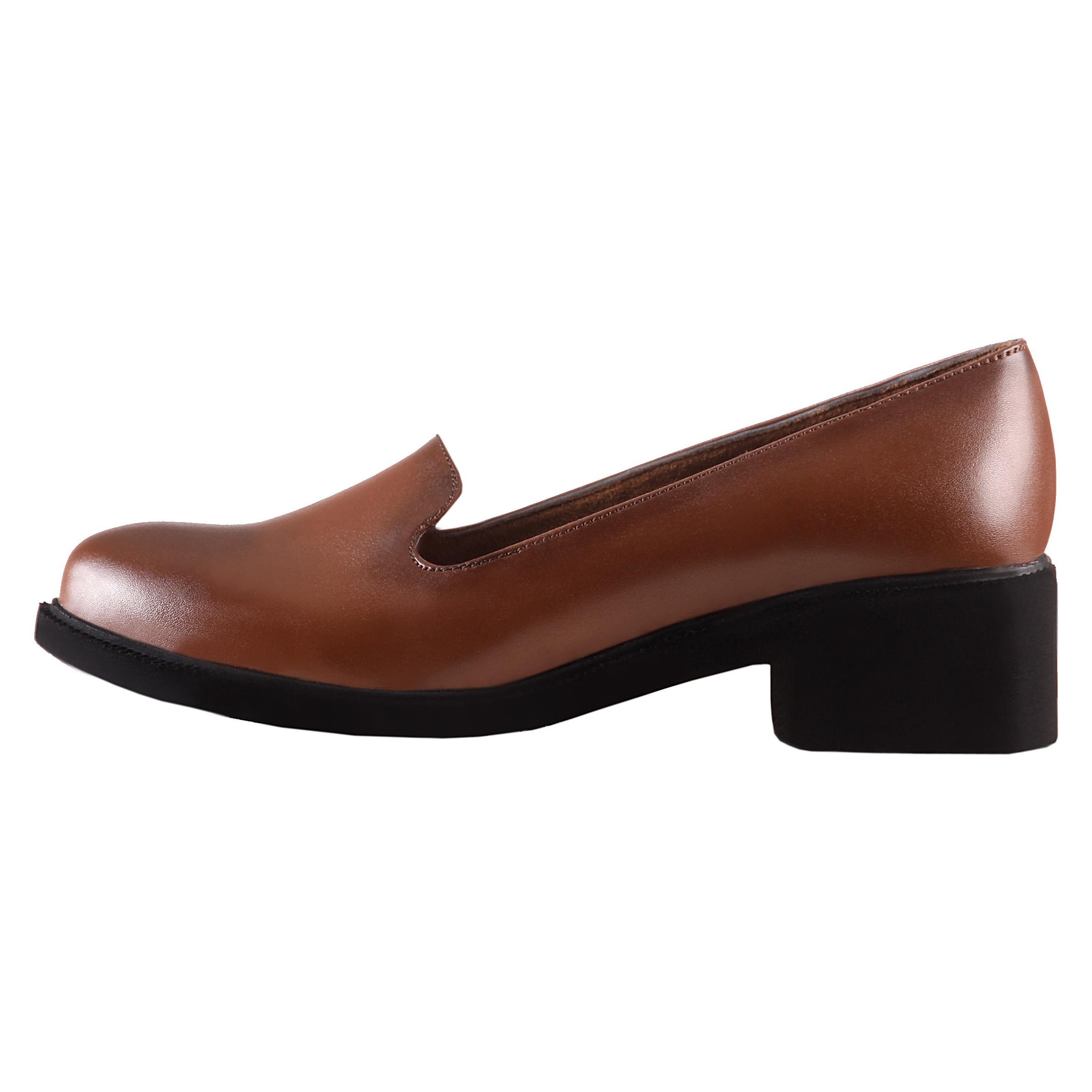 کفش طبی زنانه ونوس مدل شیما عسلی