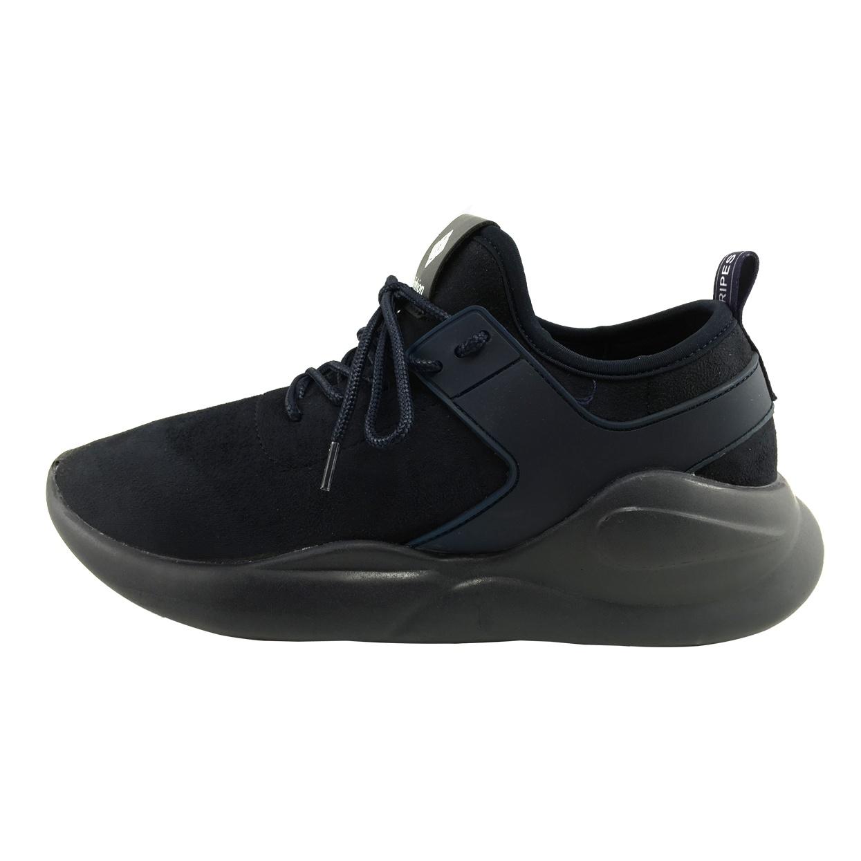 کفش ورزشی زنانه فشن مدل B140 رنگ سرمه ای