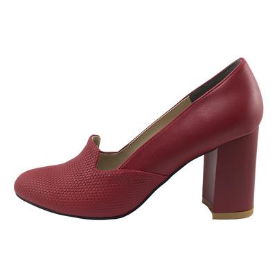 تصویر کفش زنانه مدل B129 رنگ قرمز