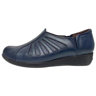 تصویر کفش طبی زنانه روشن مدل شاهین کد 03