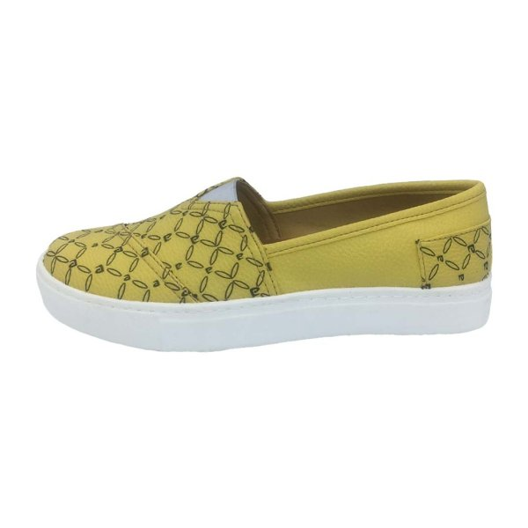 کفش زنانه پردیس کد 1015 رنگ زرد