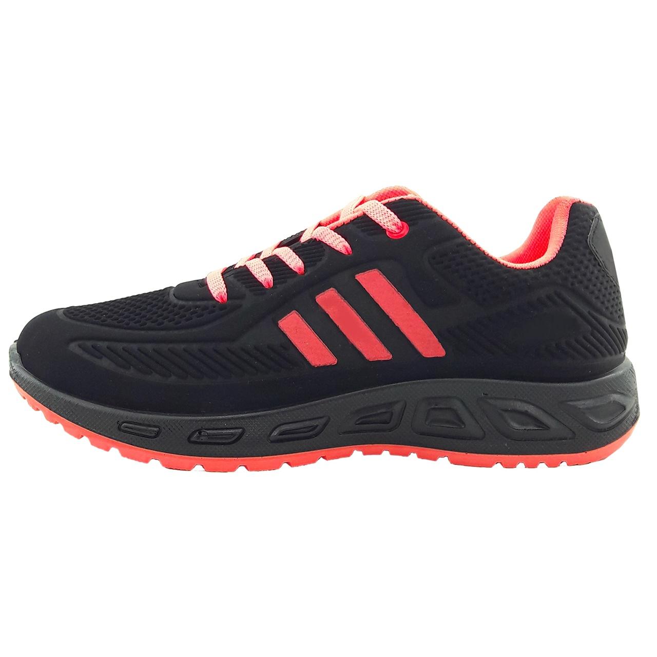 کفش مخصوص پیاده روی زنانه سورنا مدل 3kh.bl.rd001