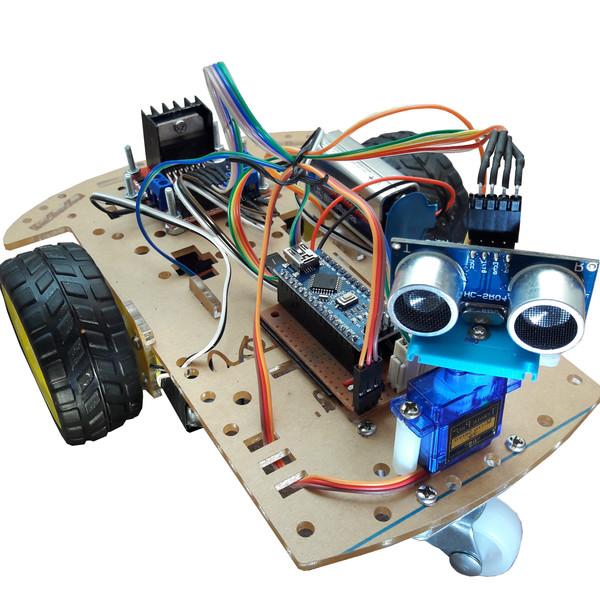 ربات تشخیص مانع مهندسیکا مدل 2W-M20