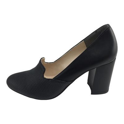 تصویر کفش زنانه مدل B114 رنگ مشکی