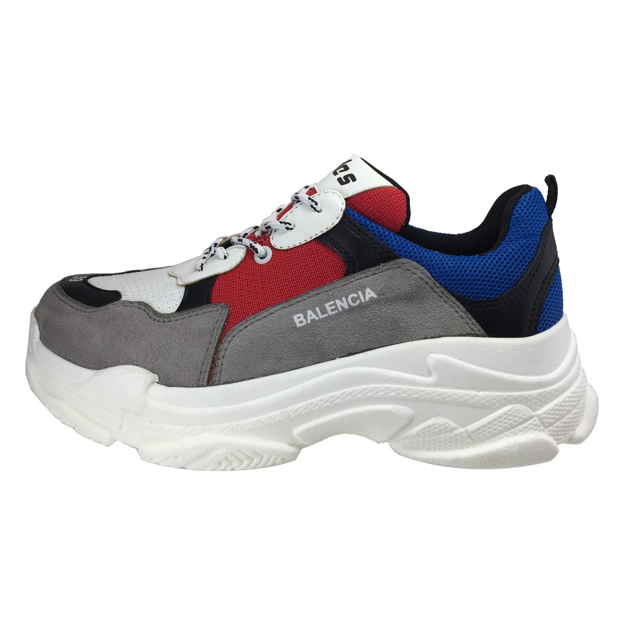 کفش زنانه بالنسیا مدل B82 رنگ طوسی