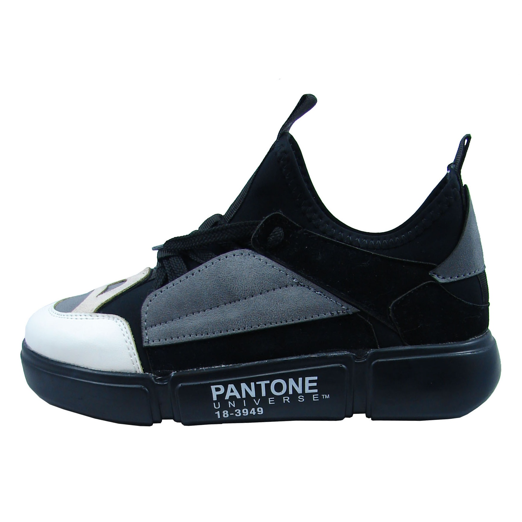 کفش راحتی پانتون مدل 00020  رنگ طوسی