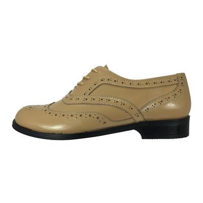 تصویر کفش زنانه پاریس جامه مدل  B263 رنگ کرم