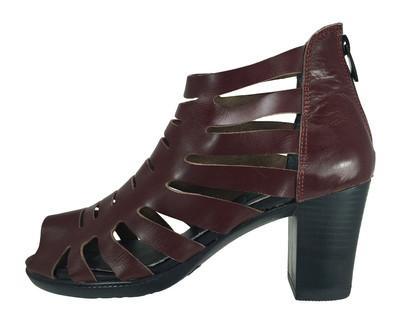 تصویر کفش زنانه مدل B259 رنگ زرشکی