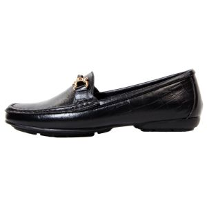 کفش زنانه چرم مدل FR01 طرح فراگامو