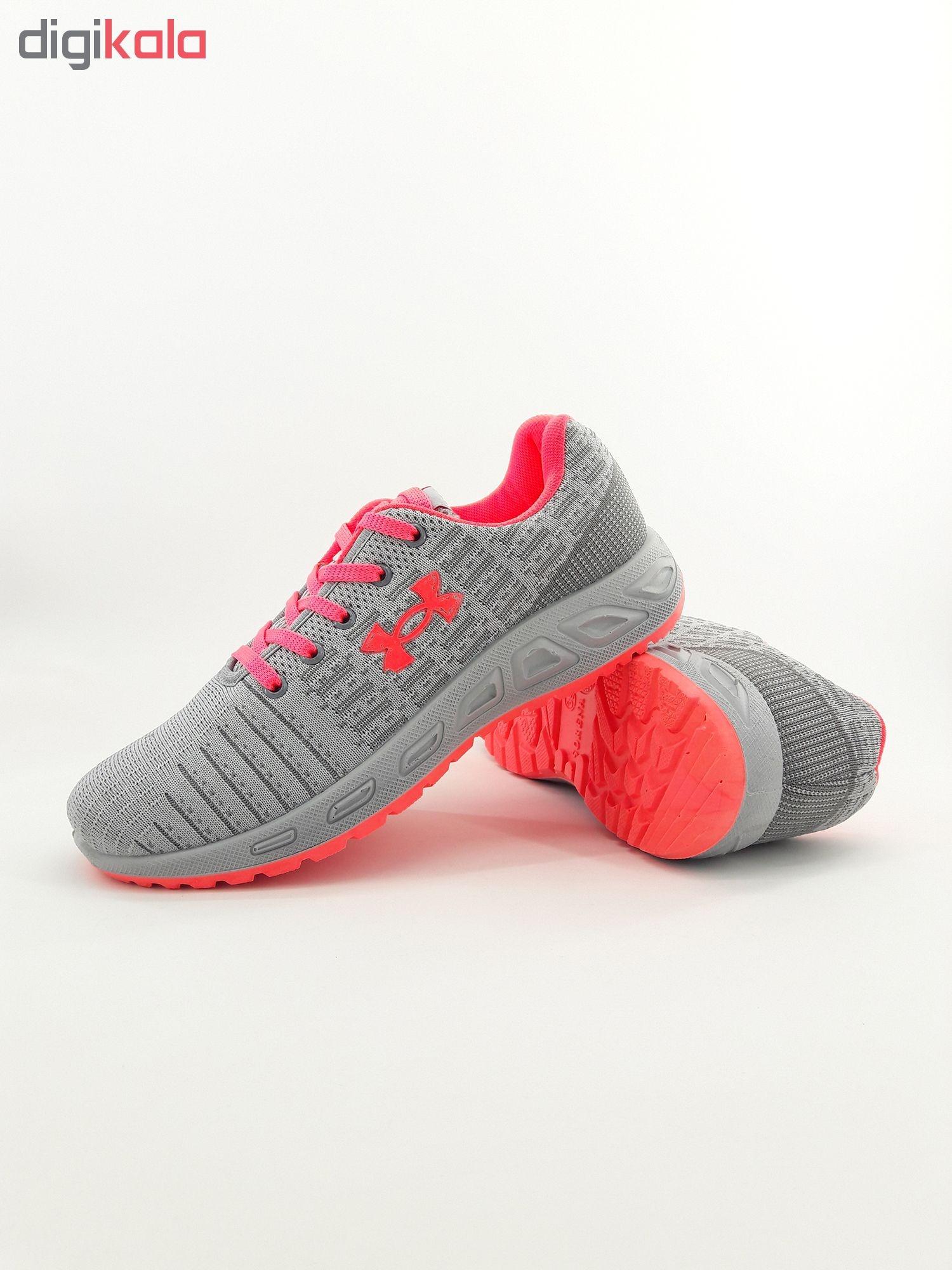 کفش مخصوص پیاده روی زنانه مدل Un srn-gr pnk-bft01