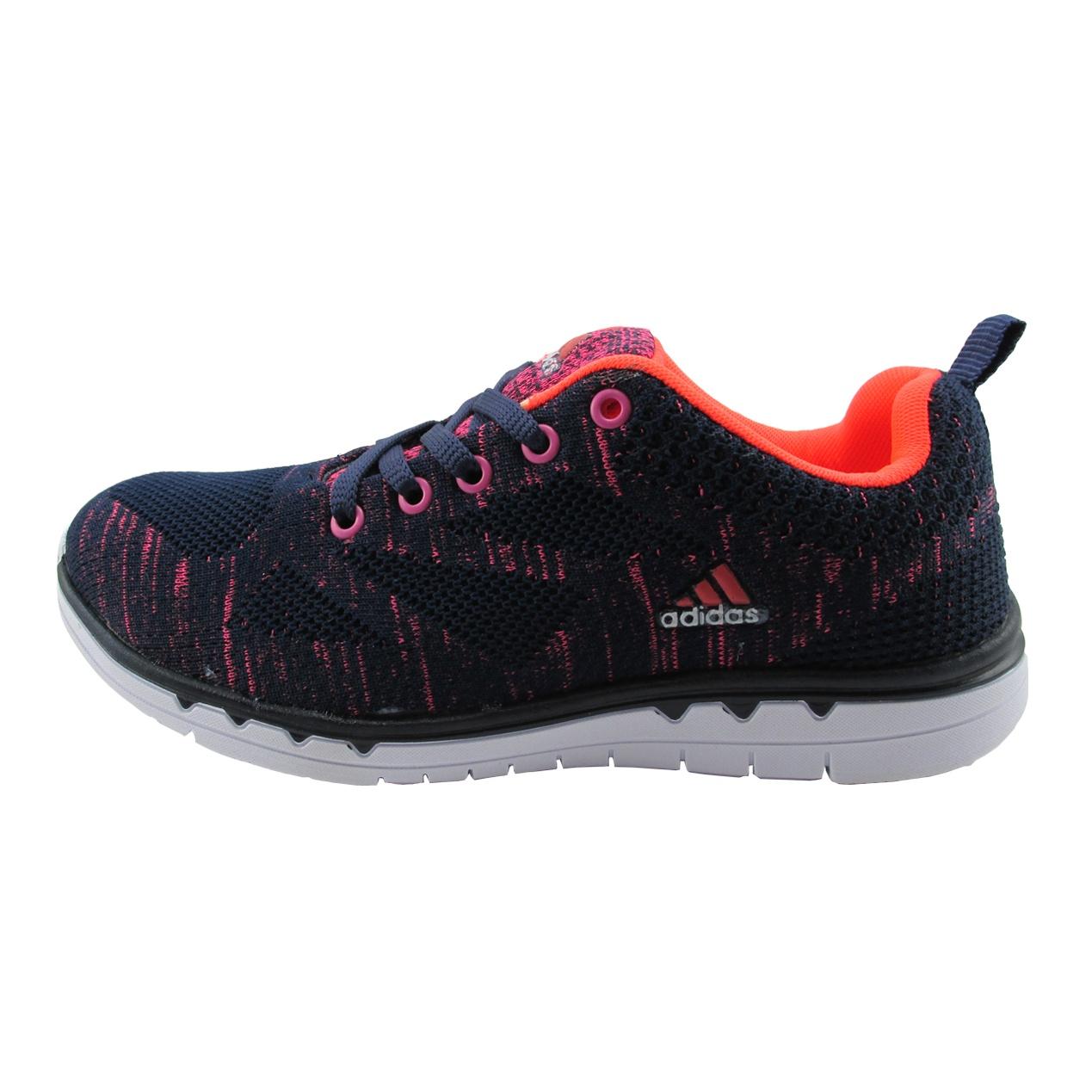 کفش مخصوص پیاده روی زنانه مدل B13 رنگ سورمه ای صورتی