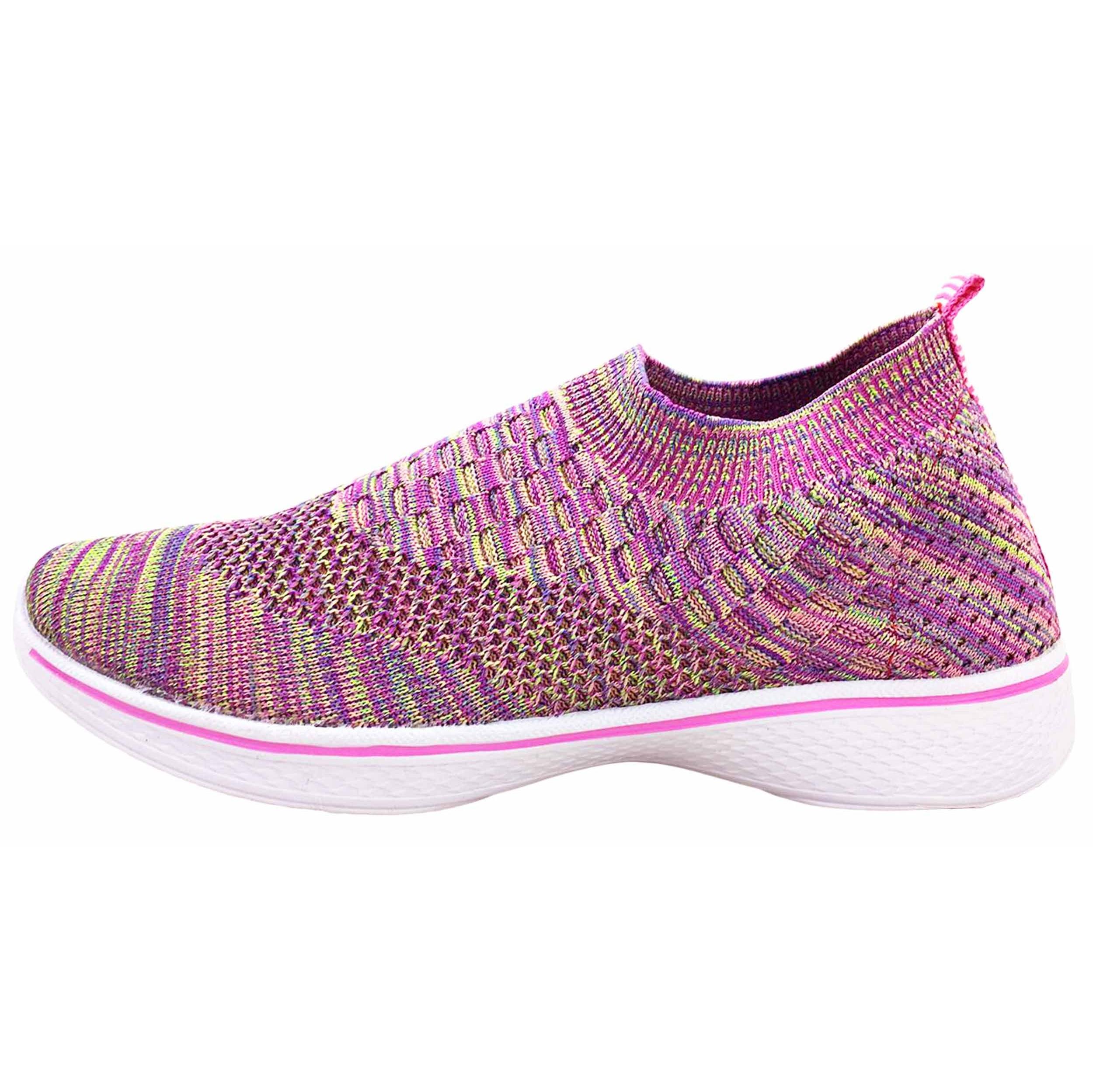 کفش مخصوص پیاده روی زنانه نسیم مدل پاریس میانه کد W3052