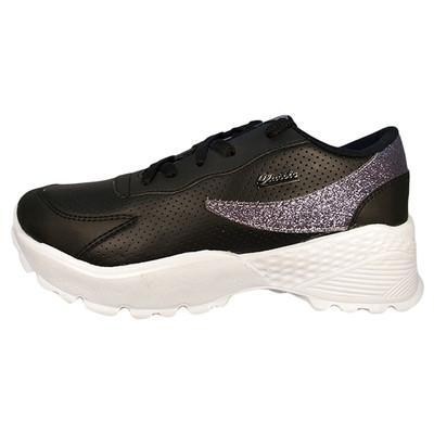 تصویر کفش ورزشی زنانه مدل BLACK-ZS01