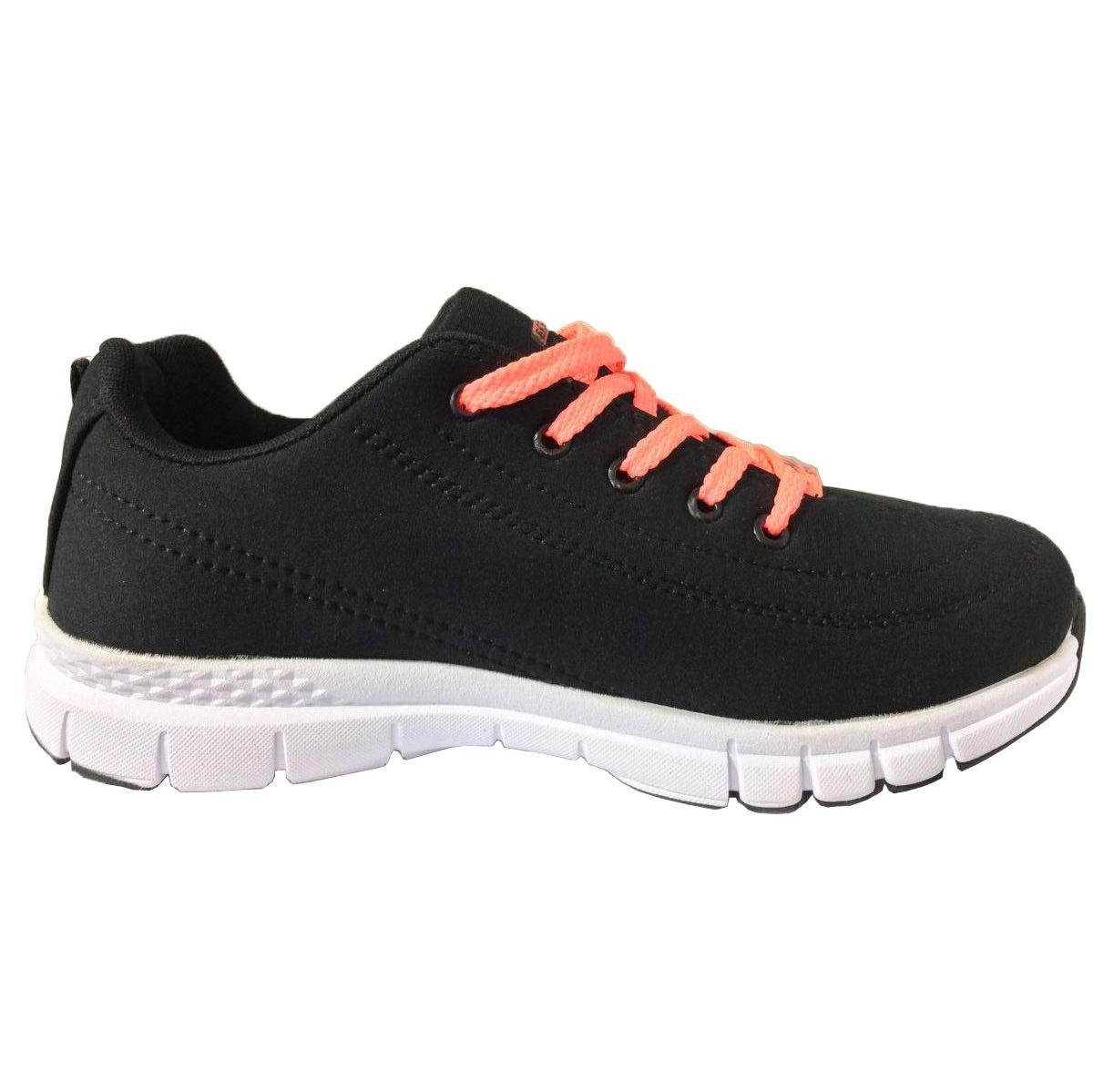 کفش ورزشی زنانه مخصوص پیاده روی مدل lux-b  رنگ مشکی