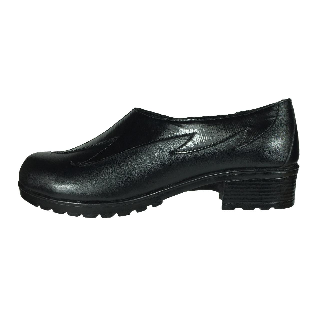 تصویر کفش زنانه پاریس جامه مدل B52 رنگ مشکی