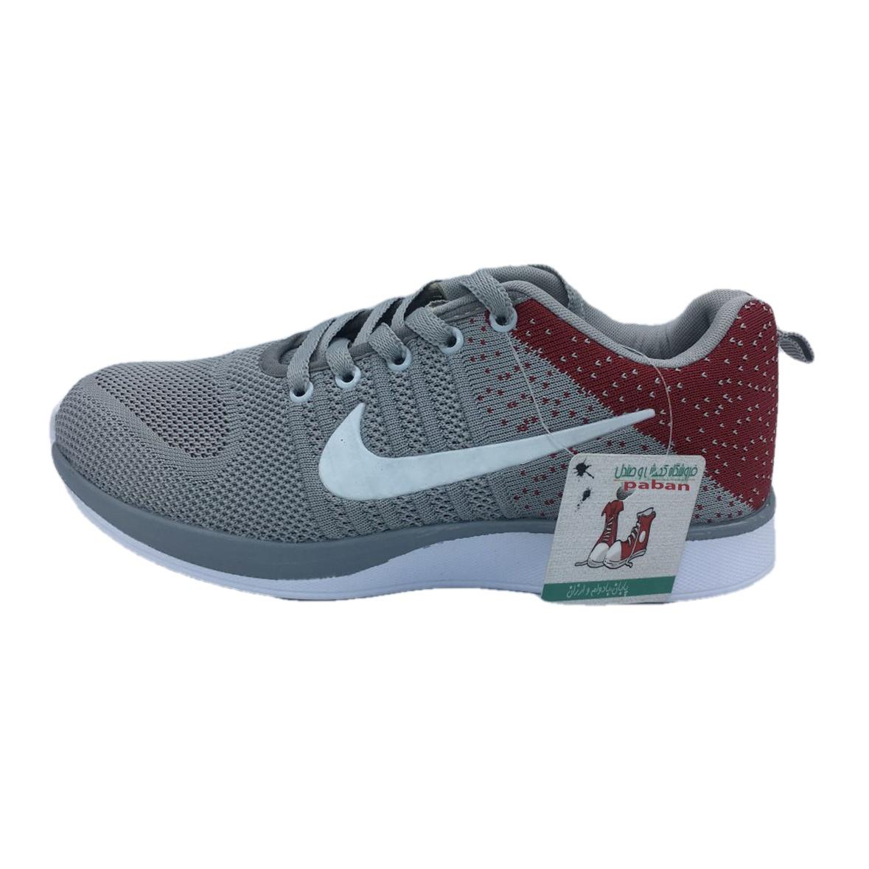 کفش مخصوص پیاده روی زنانه پابان مدل L 203 رنگ زرشکی