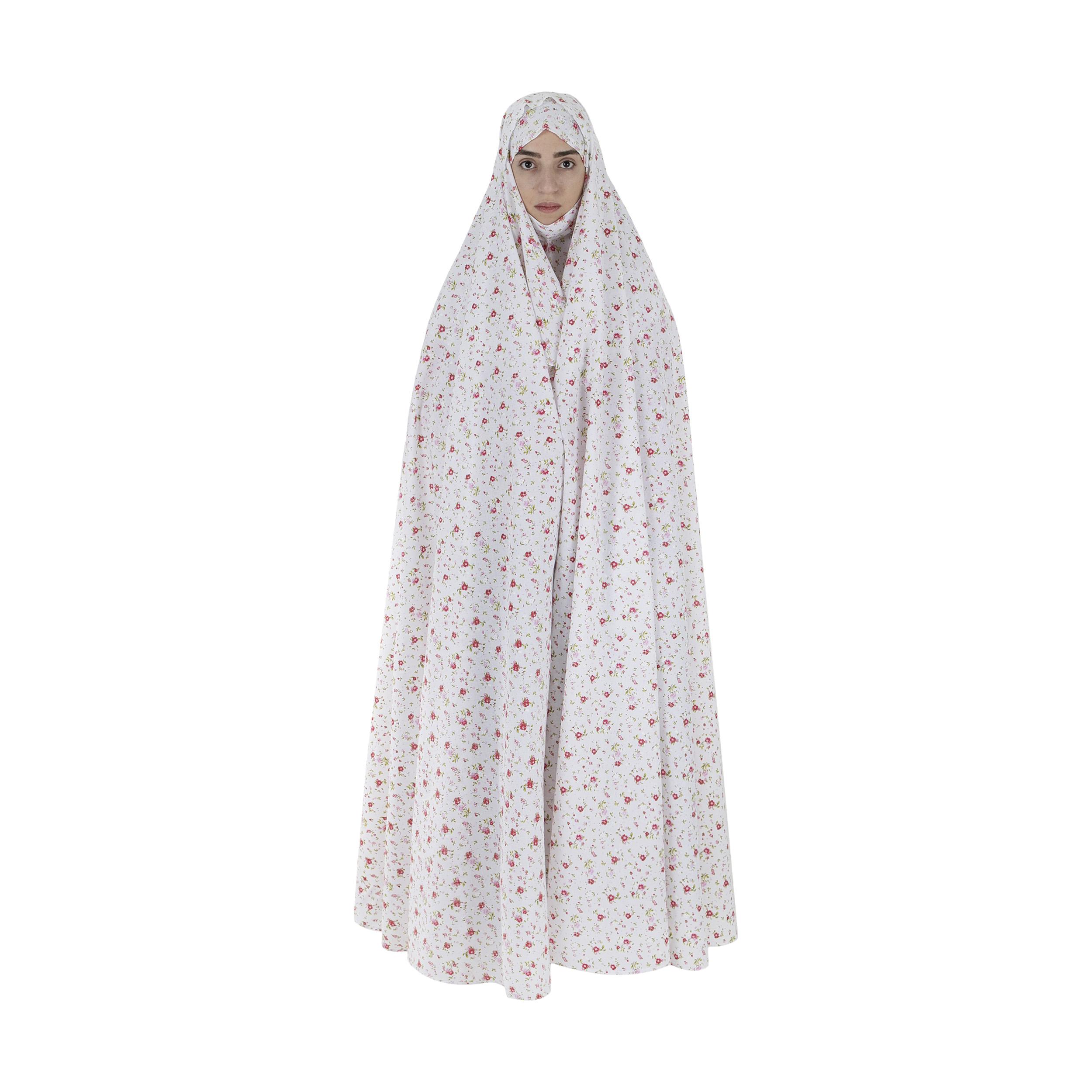 چادر نماز کد 138 به همراه مقنعه