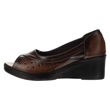 کفش زنانه سینا مدل مهتاب رنگ عسلی