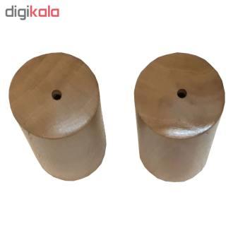نمکدان چوبی مدل TK33 بسته دو عددی