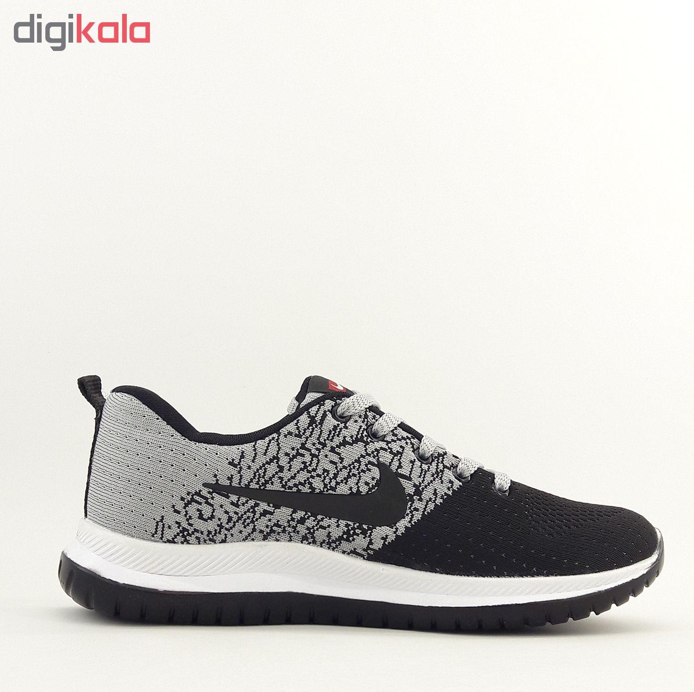 کفش مخصوص پیاده روی زنانه مدل Nk.mhrp.bft.gr.bl-001