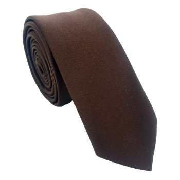 کراوات مردانه هکس ایران مدل KS-BROWN