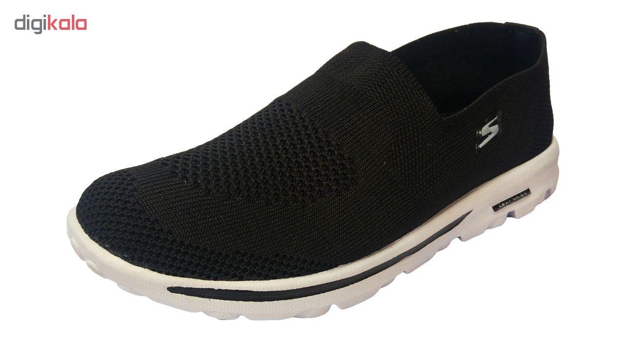 کفش مخصوص پیاده روی مدل بافتی کد 001
