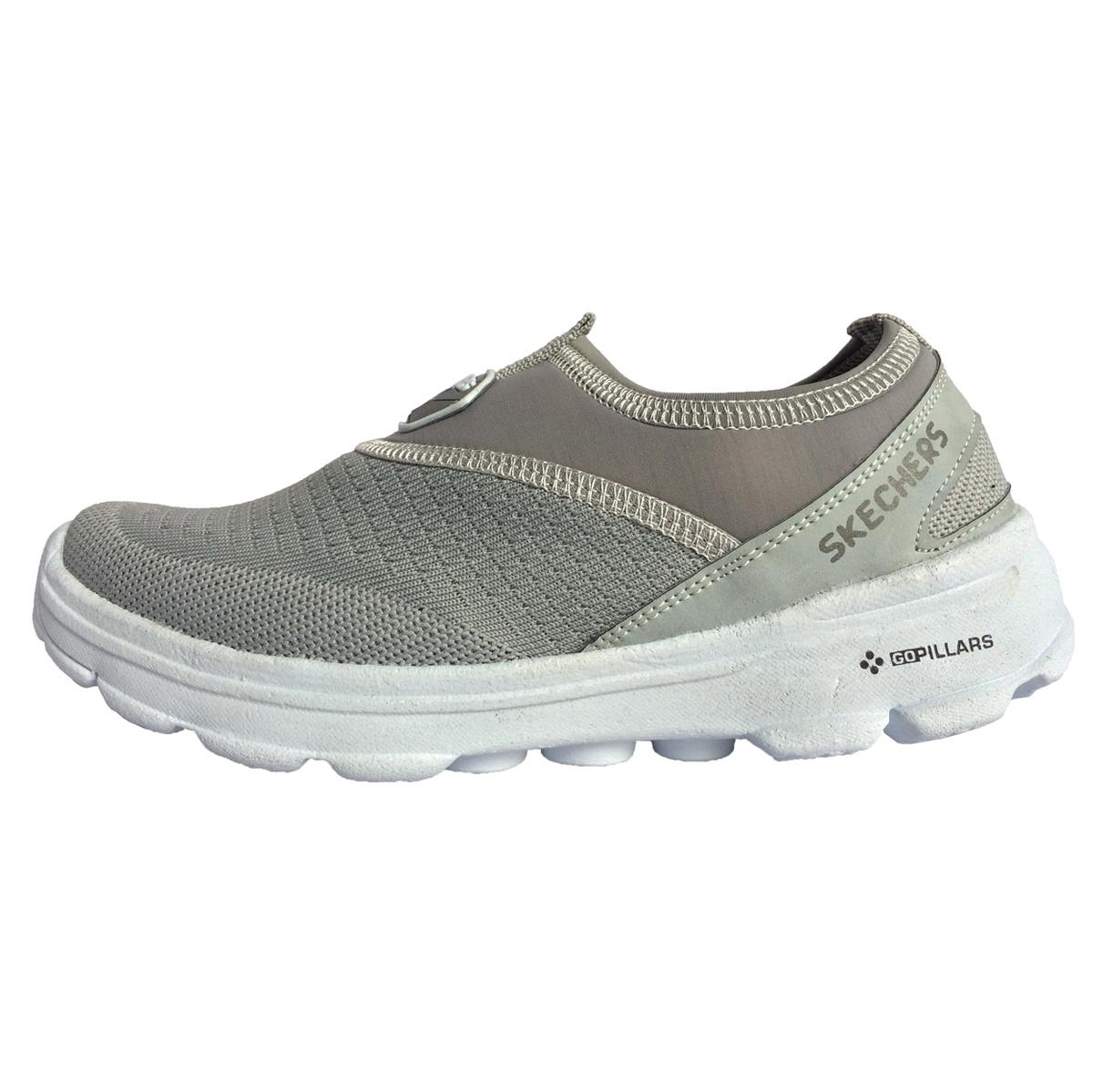 کفش مخصوص پیاده روی زنانه مدل parsian  رنگ طوسی روشن