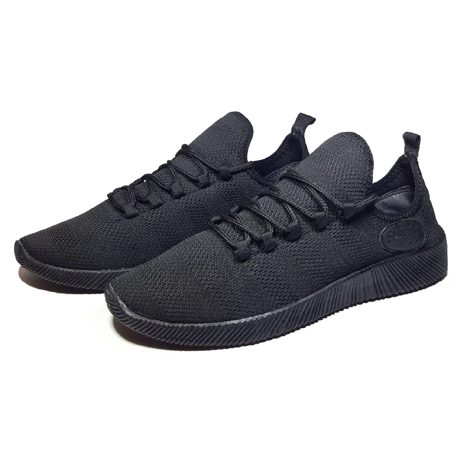 کفش مخصوص پیاده روی زنانه مدل Dharma Black W main 1 3