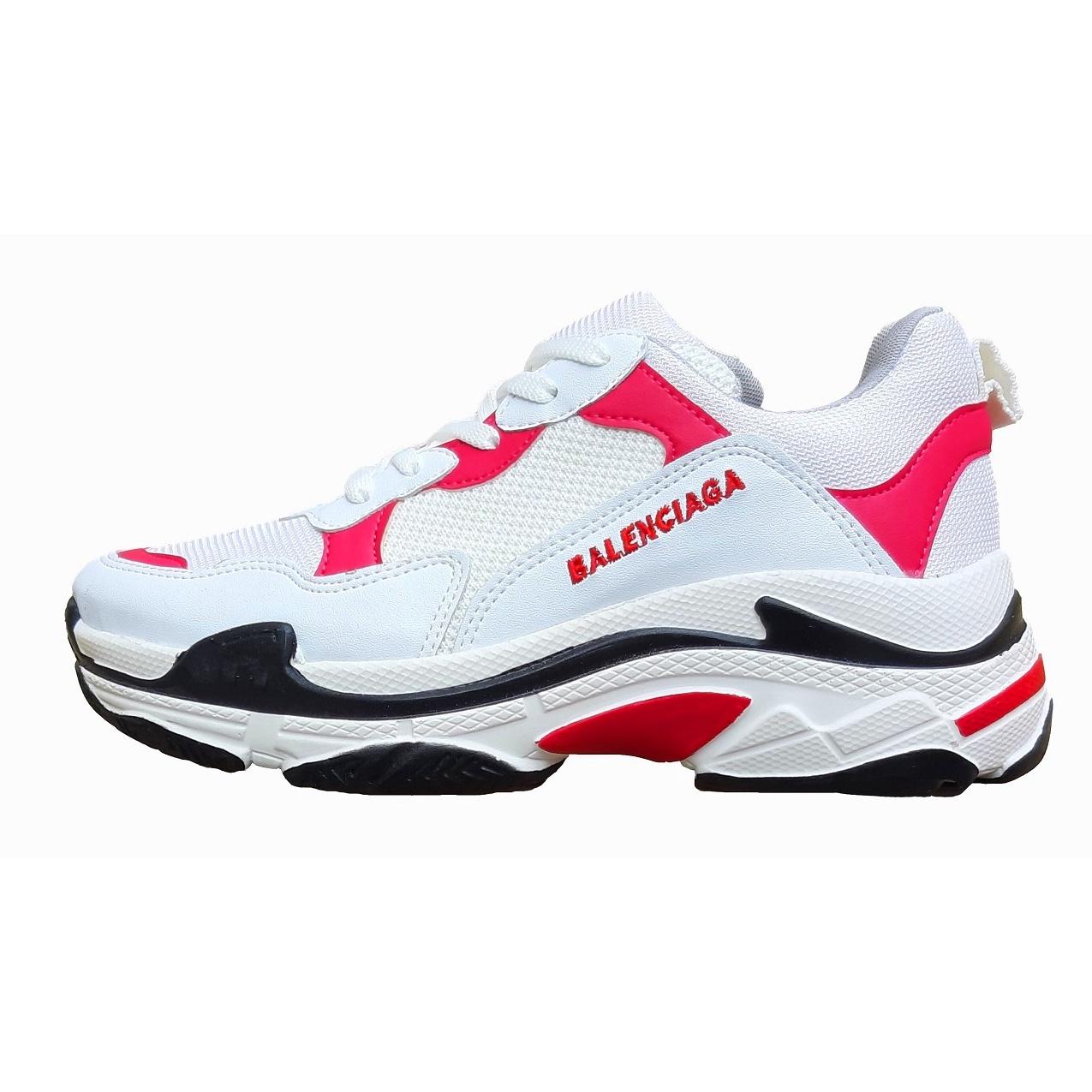 کفش مخصوص پیاده روی زنانه کد 232003رنگ سفید و صورتی