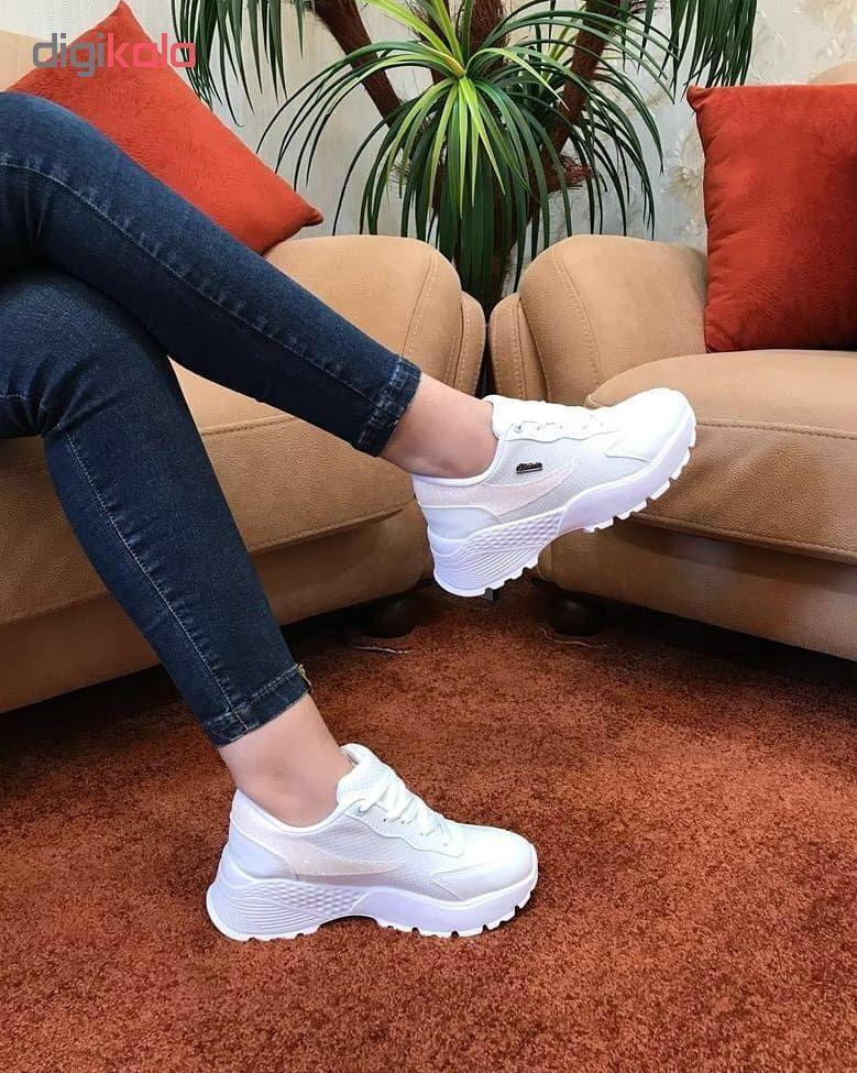 کفش مخصوص پیاده روی زنانه مدل کلاسیک کد 02 main 1 2