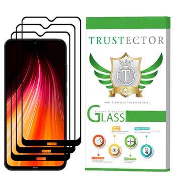 محافظ صفحه نمایش تراستکتور مدل GSS مناسب برای گوشی موبایل شیائومی Redmi Note 8 بسته 3 عددی
