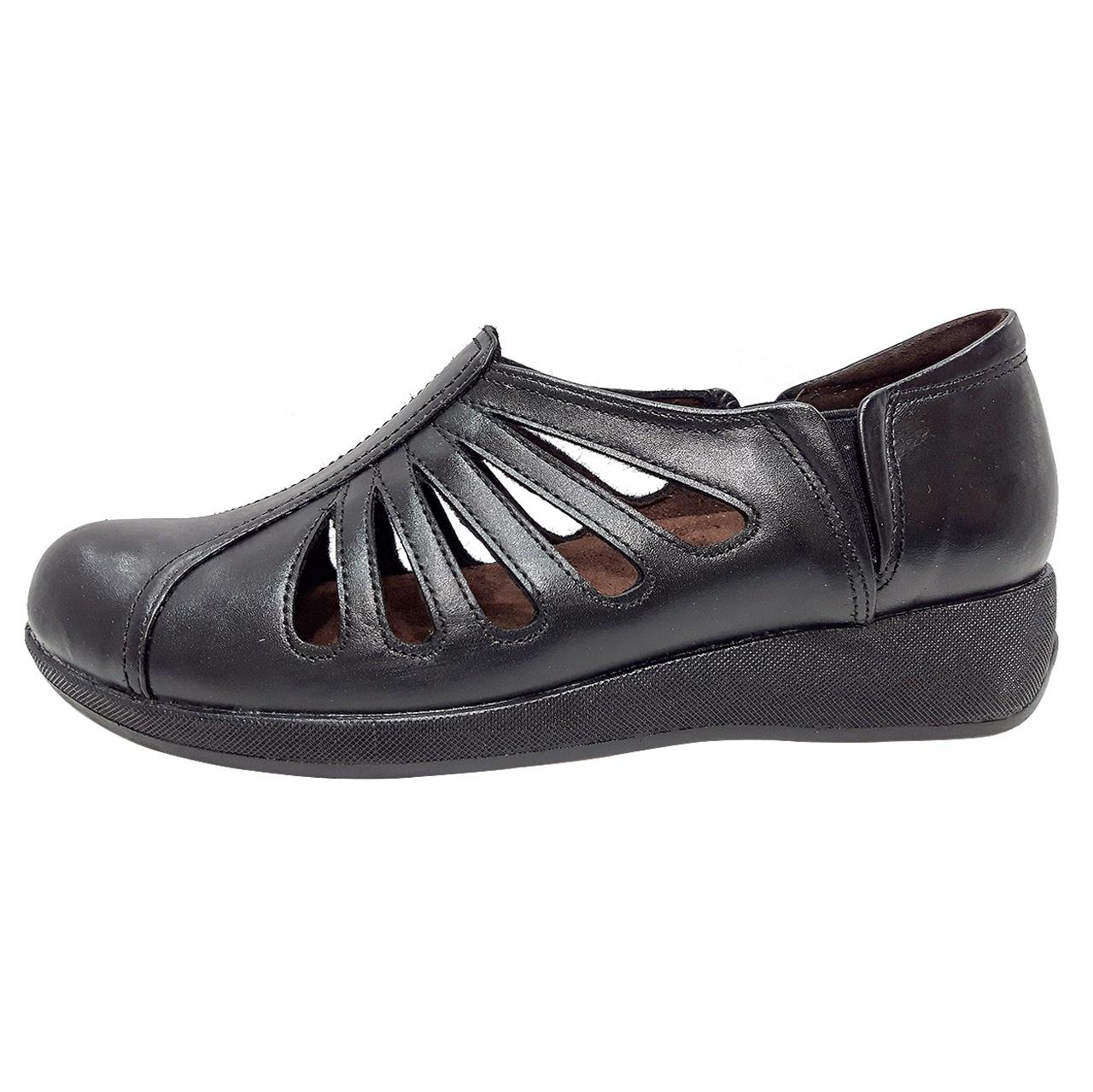 خرید                      کفش روزمره زنانه روشن مدل شاهین کد 11