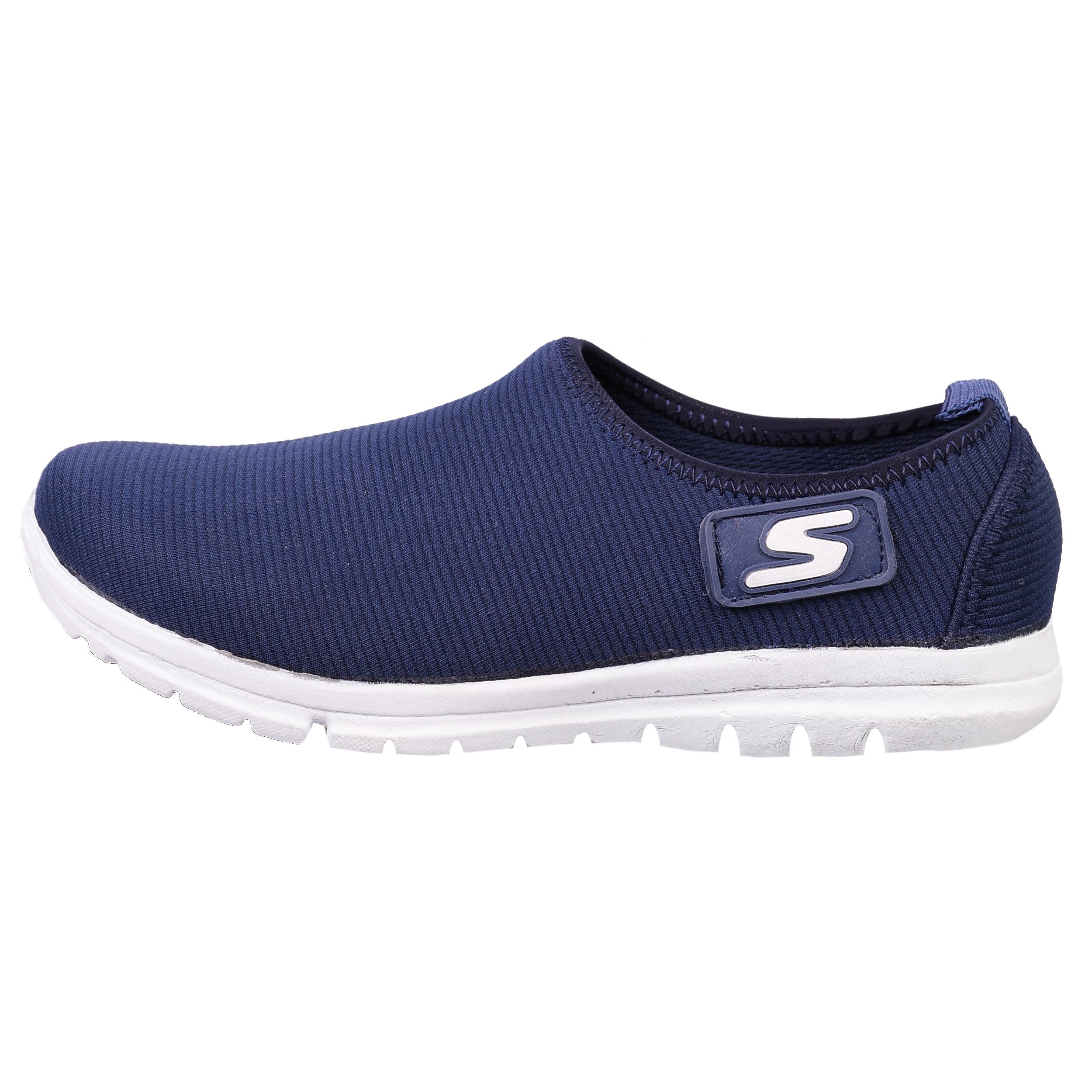 کفش مخصوص پیاده روی زنانه مدل آلفا کد 2371 رنگ سرمه ای