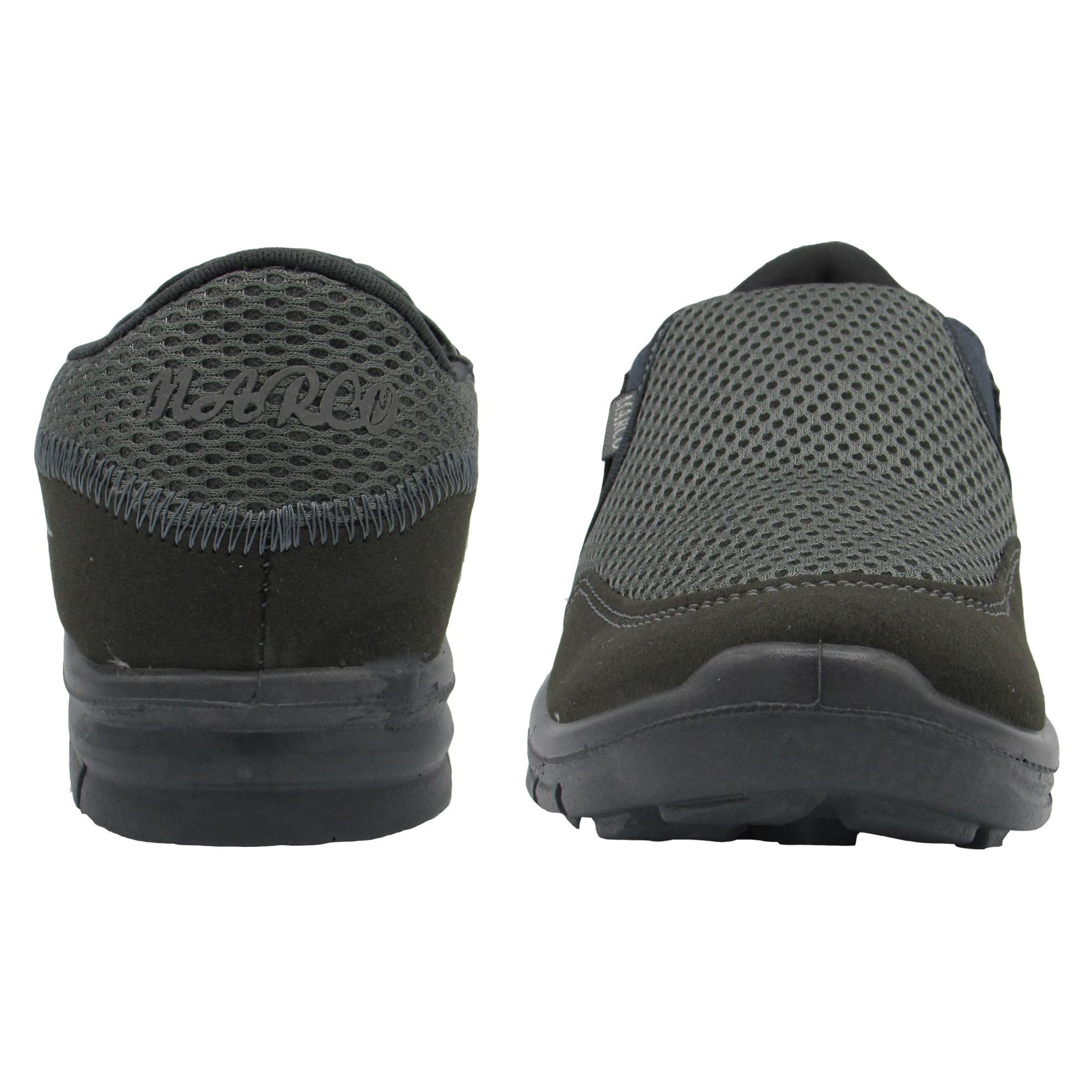 کفش مخصوص پیاده روی زنانه اندیشه مدل مارکو کد 1516 رنگ طوسی