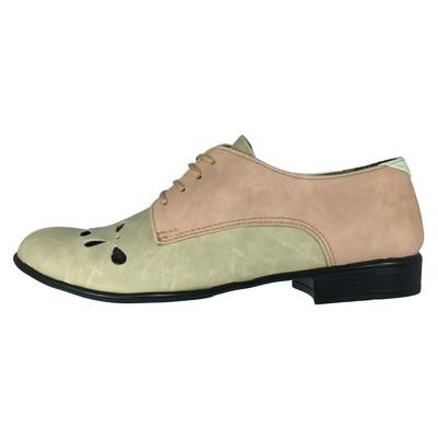 تصویر کفش زنانه پاریس جامه کد B49َ6 رنگ کرم