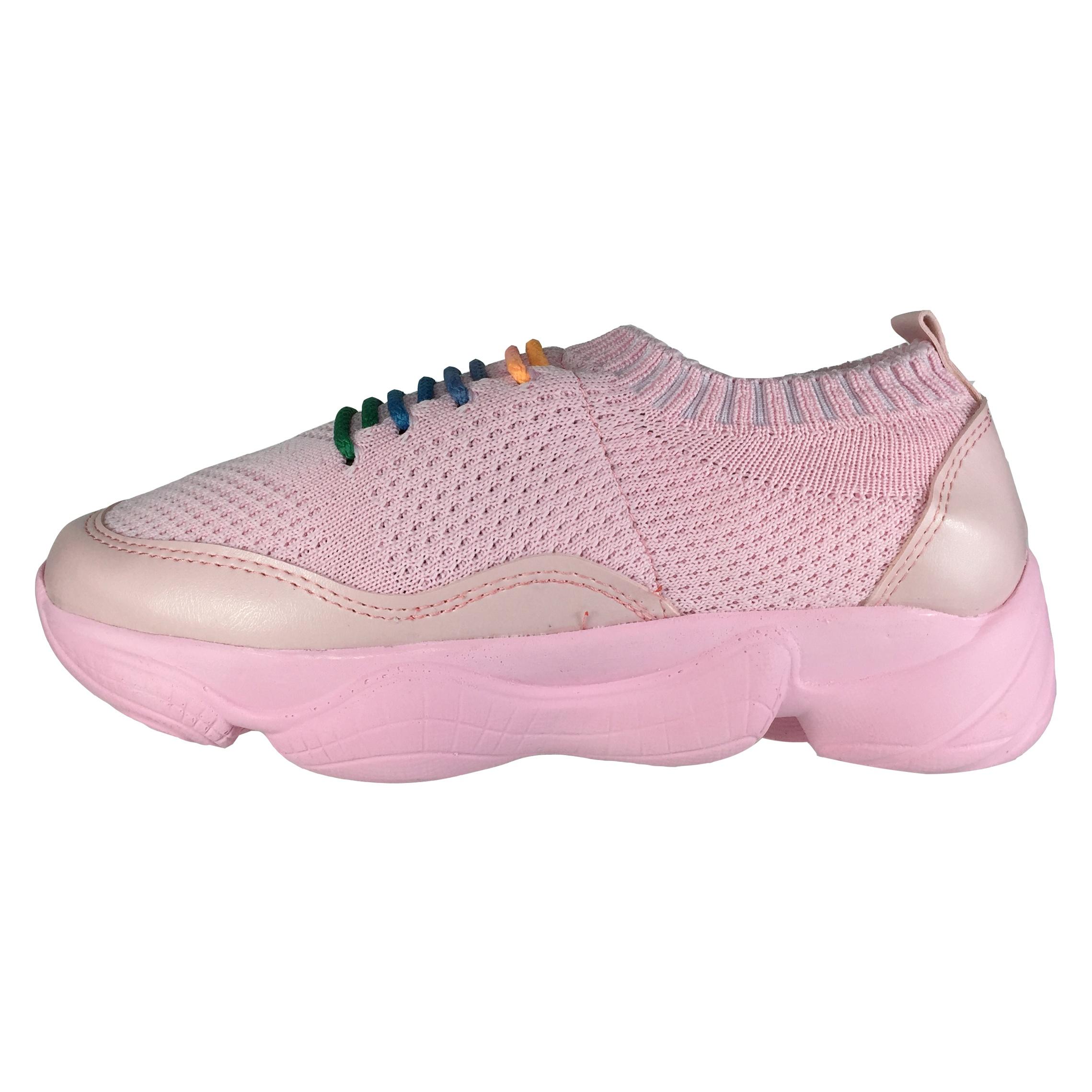 کفش زنانه پاریس جامه مدل B511 رنگ صورتی