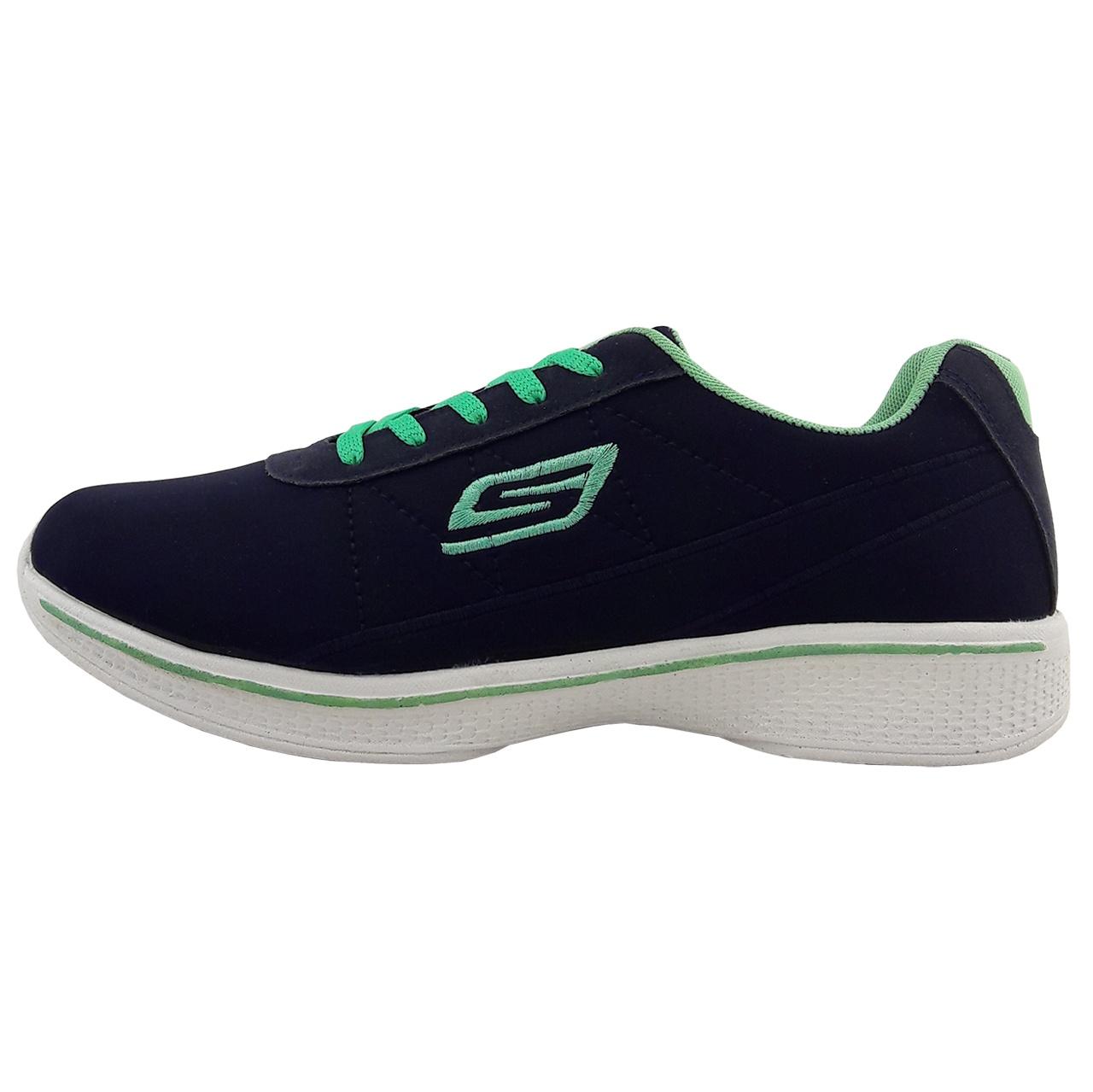 کفش مخصوص پیاده روی زنانه مدل S.cp.nvy.gre-01